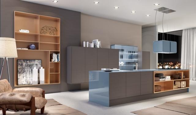 Móveis planejados para cozinha Super-Branco coleção fiffty collection