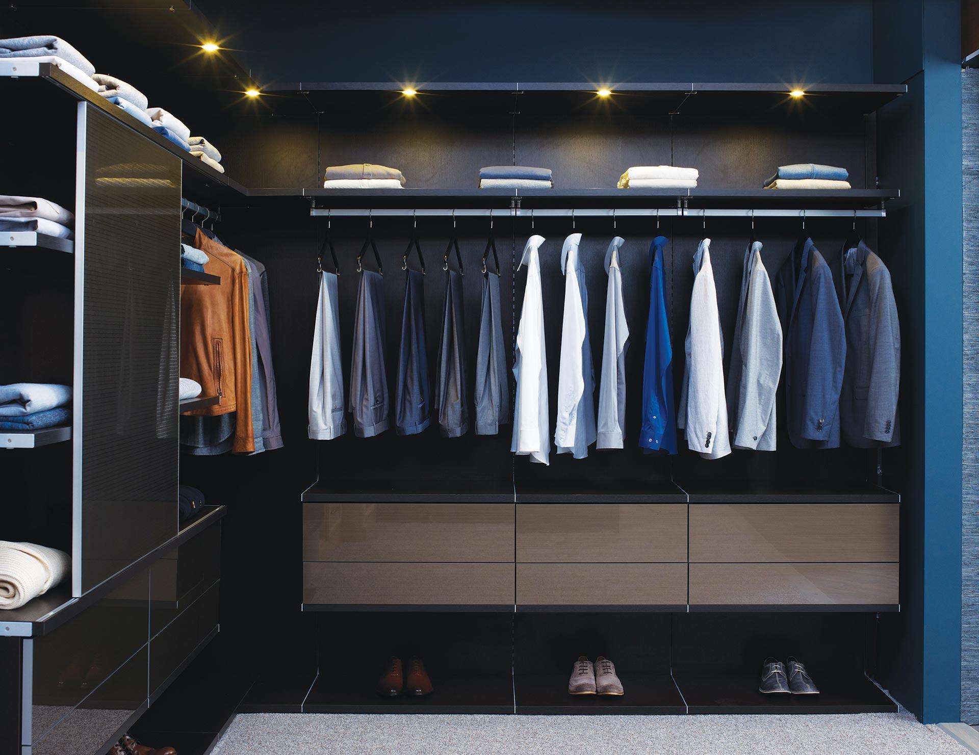 Closet dos sonhos Personalize com acessórios