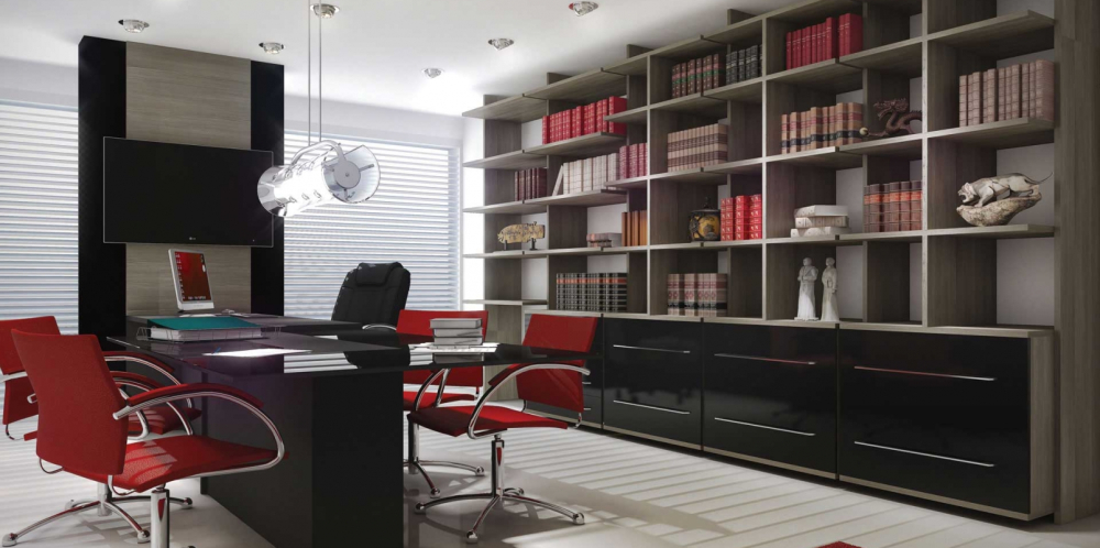 projetos de móveis planejados para escritório em Santos